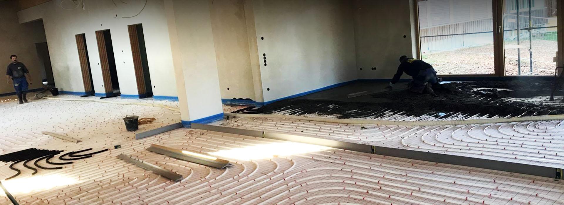 Energieeffiziente Fußbodenheizung